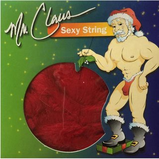 Christmas Sexy Herren String Mr. Claus